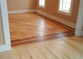 wood floor, transition